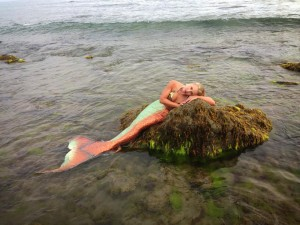 mermaid melissa rock beach
