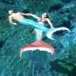 real life mermaid and merman
