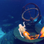 mermaid melissa atlantis resort mermaid professional hire a mermaid performer underwater