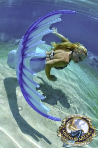 Mermaid Melissa, Real-Life Mermaid