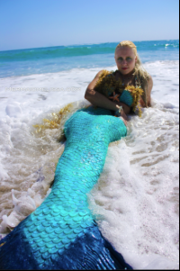 mermaid tail mermaid melissa beach green scales