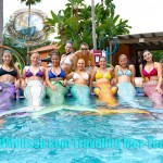 group mermaids resort traveling tank mermaid tour