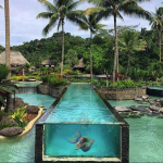 mermaid melissa resort island pool mythical mermaid