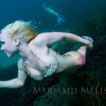 mermaid melissa underwater blue ocean