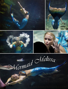 mermaid Ripleys aquarium mermaid performer