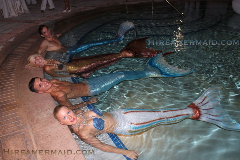 mermaids mermen event