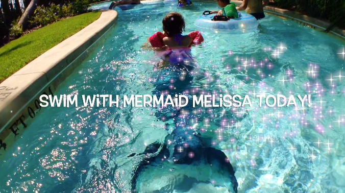 A Child S Wish Come True Becoming A Mermaid Mermaid