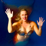 Mermaid-Melissa professional mermaid in tank rental aquarium mermaid