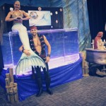 THE MERMAID MELISSA SHOW FAMOUS TRAVELING MERMAID TANK AND PIRATE