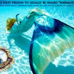 "First mermaid to legally change name to ""Mermaid"""