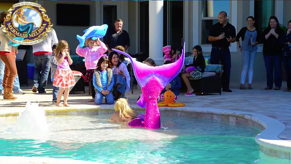 Swimming Mermaids Kids Birthday Parties Los Angeles