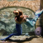 MERMAID AND MERMAN UNDERWATER HUG LAGOON