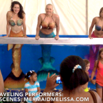 Live mermaid showcase for hire