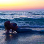 MERMAID-MODEL-MERMAID-MELISSA-SUNSET-BEACH-OCEAN