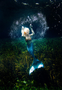 black water mermaid melissa tail underwater model spring mermaid