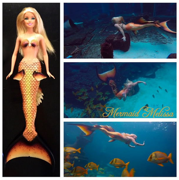 mermaid melissa barbie doll replica mermaid toy real life mermaid