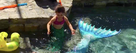 mermaid melissa kids party youtube pic