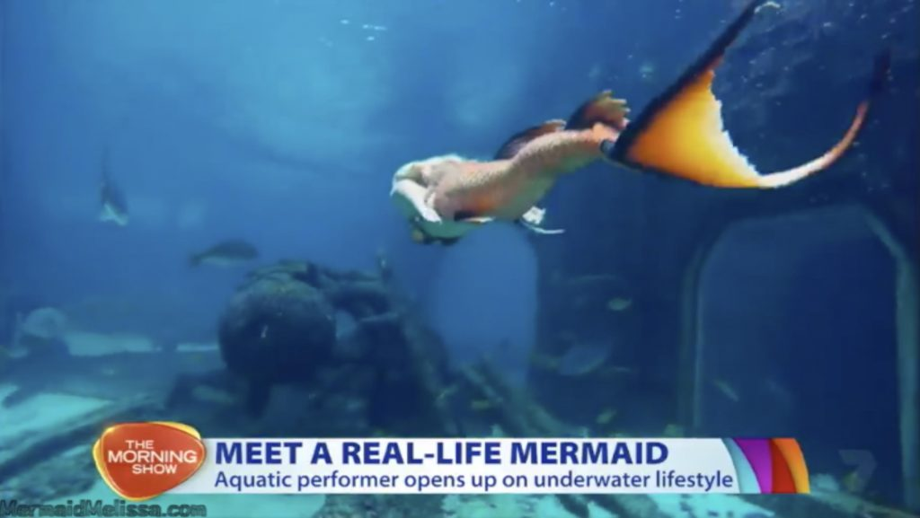 the morning show mermaid melissa interview live